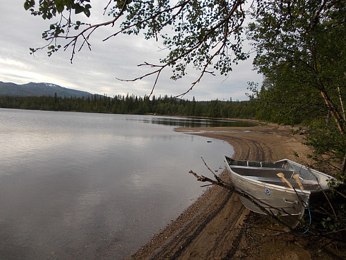 Idyll ved Gammelvollsjøen