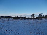 Milevis med flotte skimyrer på Henningvola
