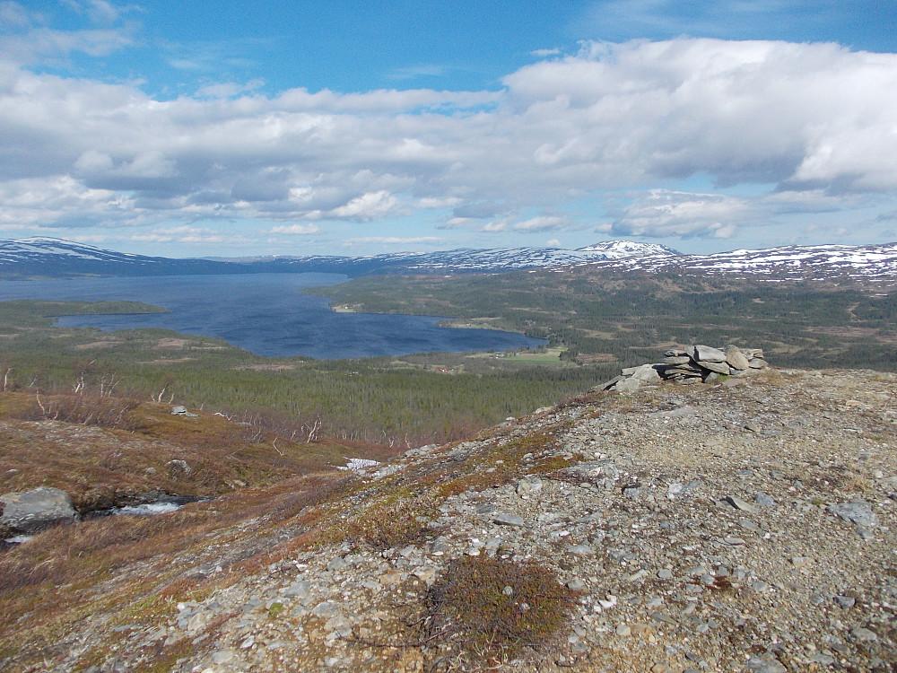 Utsikt mot Feren og Hermannsnasa