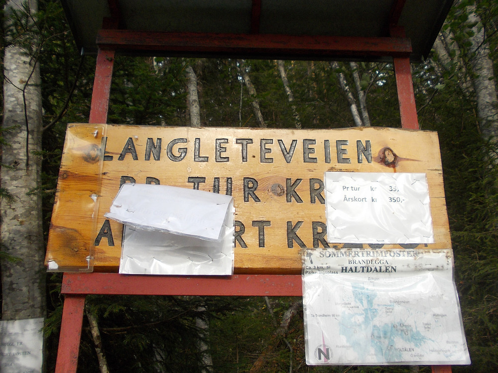 Bomveien Langleteveien.