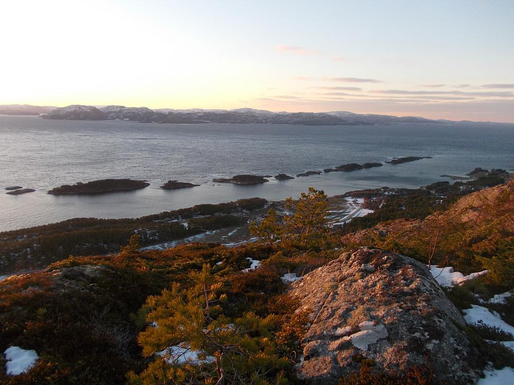 Fin utsikt mot Klungsetholman