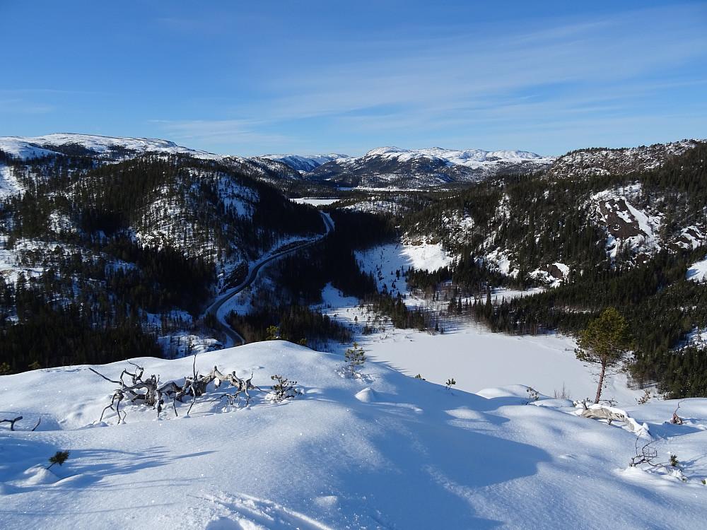 Utsikt fra Nord for Tøtdalen mot Stattjønna