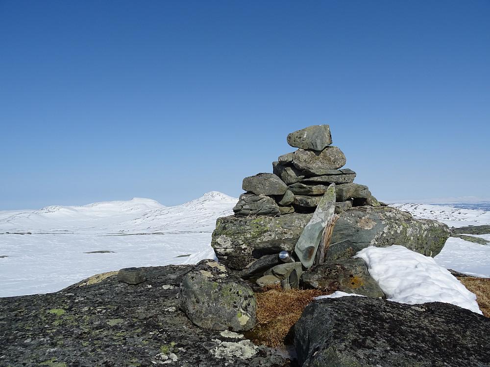 Toppvarden på Hallsjøfjellet