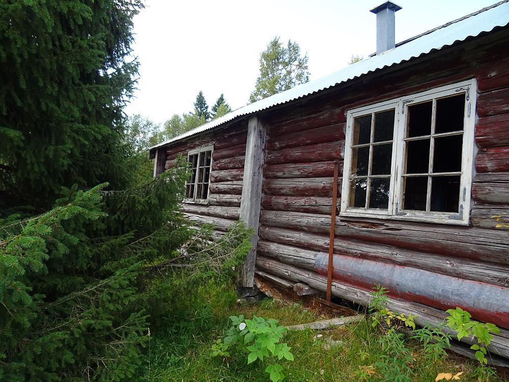 Tømmerhus ved Ulstadsæteren