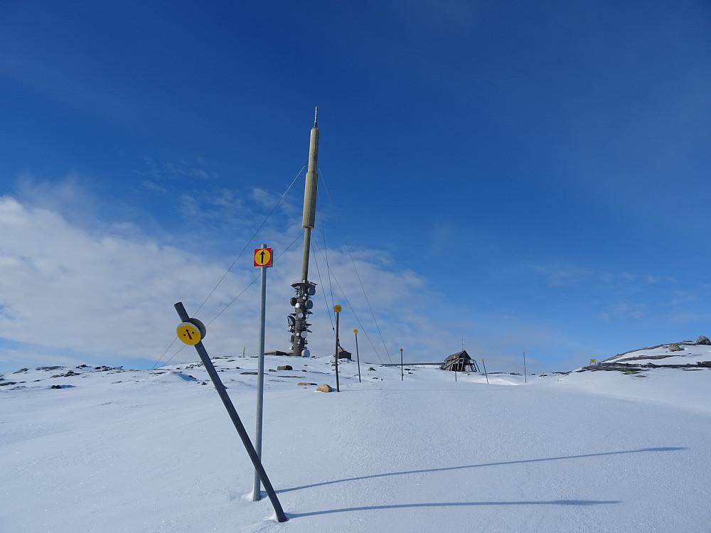 Senderen på Geitfjelltoppen