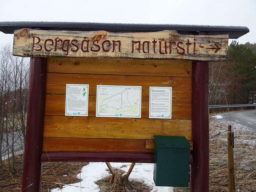 Info om Bergsåsen natursti