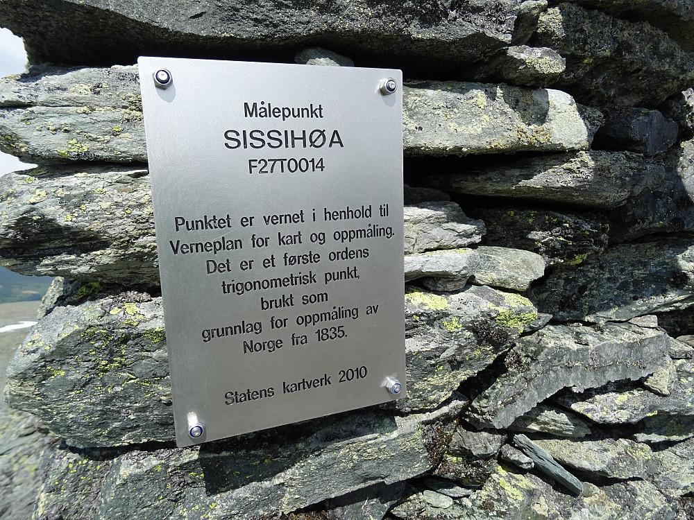 Vernet varde på Sissihøa