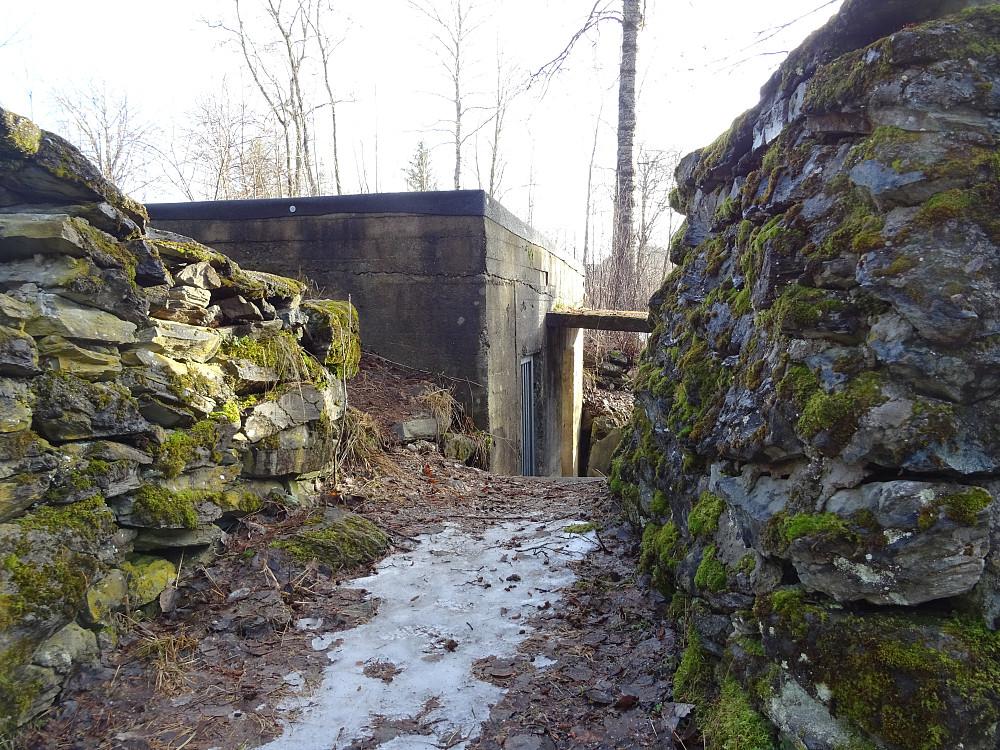 Bunkerser fra 2. verdenskrig på Monsberga