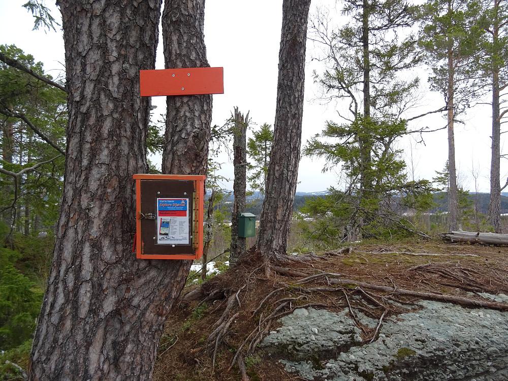 Turkassen til Explore Stjørdal på toppen av Koksåsen