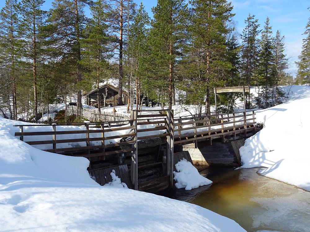 Dammen ved Dammstuggu