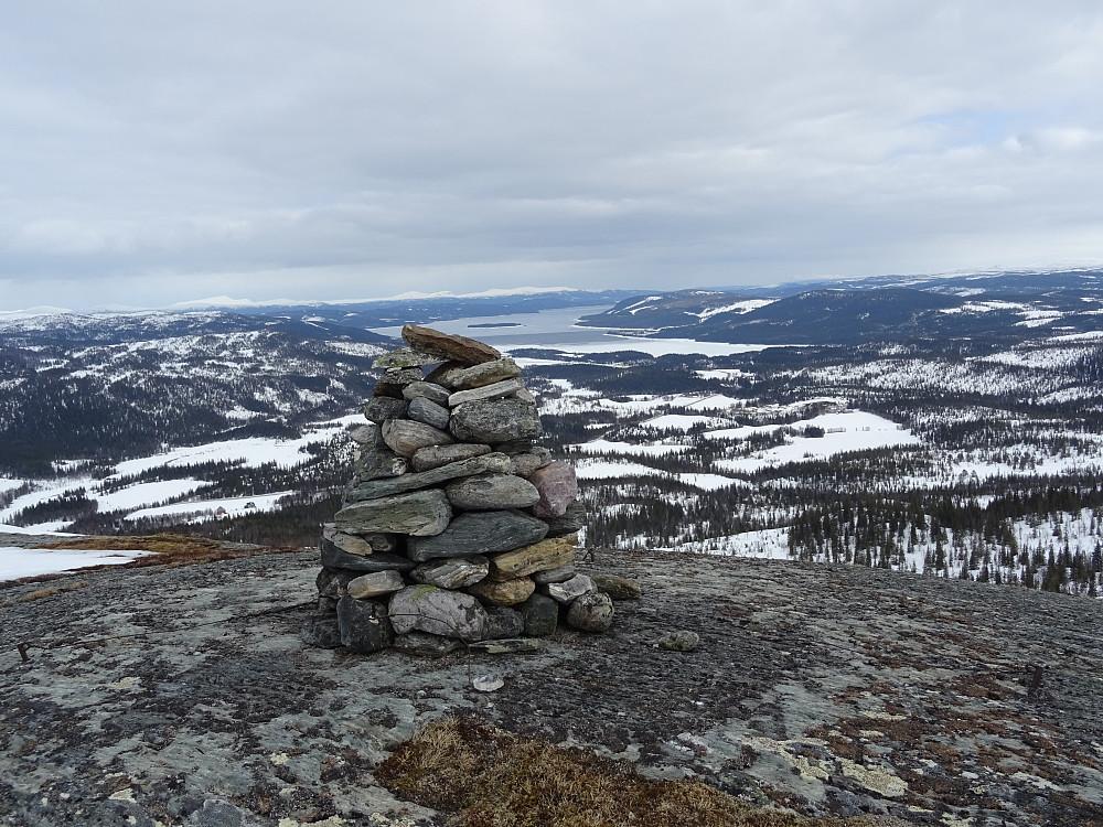 Toppvarden på Pilfjellet