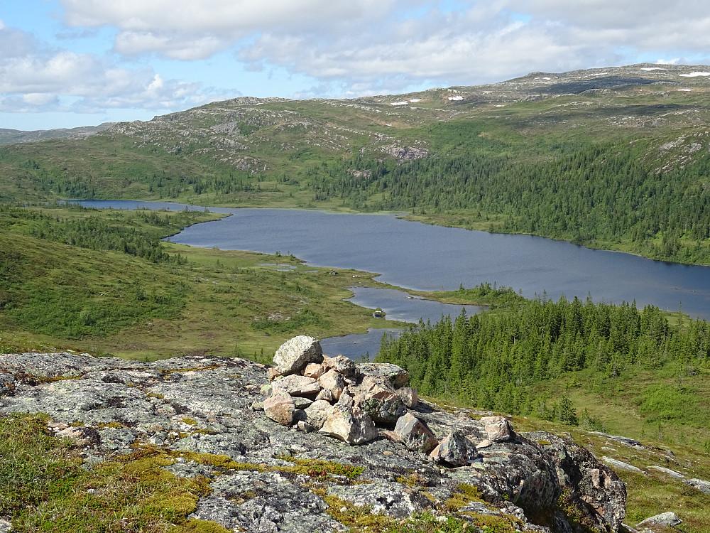 Utsikt fra Søndagsheia mot Torsvatnet