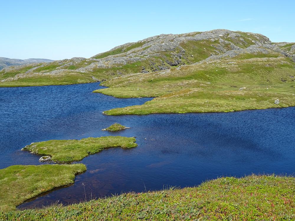 Et vakkert vann like før Aunkrona