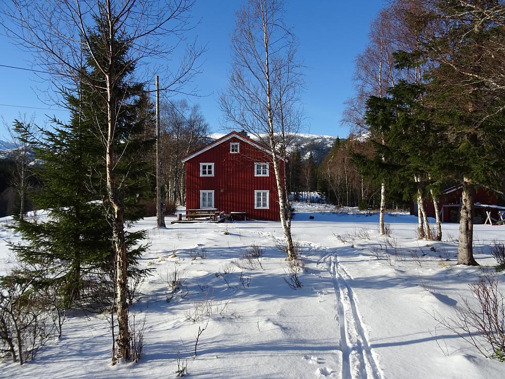 Innergården på Leisåk