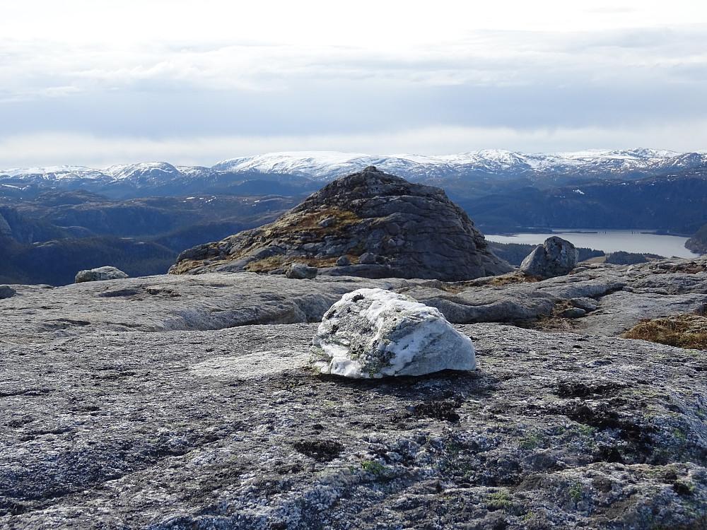 Toppsteinen på Brennfjellet