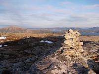 Toppvarden på Stuvfjellet