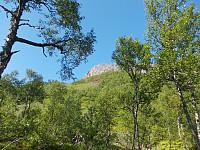 Steinfjellet nærmer seg