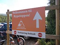 Rypetoppen Adventurepark ved Teveltunet Fjellstue
