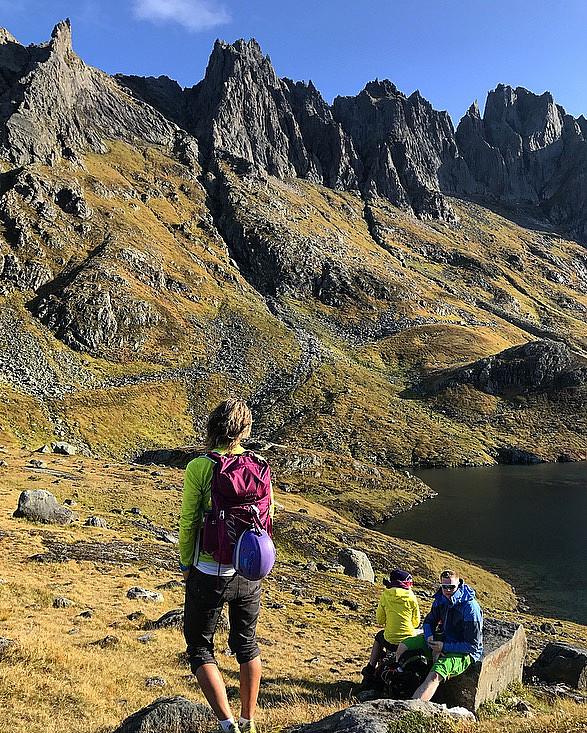 Flott fjellrekke :)